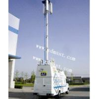 Buy cheap CCTV Telescopic Mast And 8m Vertical mounted Telescopic Tower And PTZ Tower from wholesalers