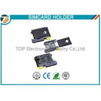 Buy cheap High Temperature SMT Sim Card Connectors For Micro Sim Cellular Phones from wholesalers