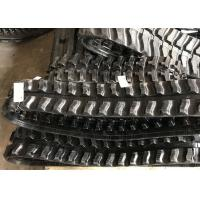 Buy cheap High Performance Rubber Tracks For Diggers , Black Custom Rubber Tracks from wholesalers