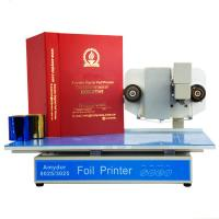 Buy cheap Automatic Amydor 3025 digital hot foil stamping machine flatbed foil printer from wholesalers