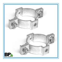 Buy cheap Single-side 2 3/8 Round post coupler bracket For 2.016 Round Post from wholesalers