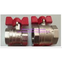 Buy cheap Lever Handle Water Fountain Equipment Wheel Female Forged Full Bore Brass Ball from wholesalers