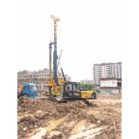 Buy cheap 150 KN.M 52m Depth Hydraulic Rotary Piling Rig 1500mm Drilling Diameter from wholesalers
