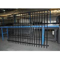 Buy cheap Hercules Steel Tubular Fence ,Garrison Security Fence stain Black Powder Coated from wholesalers