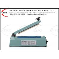 China 500 W Plastic Film Sealer , Hand Sealing Machine For Plastic Packaging on sale