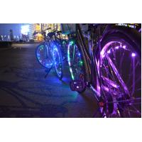 Buy cheap Mini LED Bicycle Wheel String Lights with Rechargeable Option 2015 NEW Arrival from wholesalers