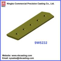 Buy cheap Cater Pillar dozer blades cutting edges 9W5232 from wholesalers