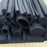 Quality EPDM rubber extruded 3M adhesive backed foam seal strips for wooden door insolation for sale