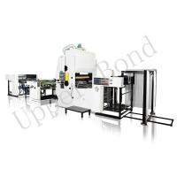 Buy cheap 8.5T Vertical Laminating Automatic Foil Stamping Machine for BOPP Film from wholesalers