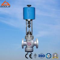 Buy cheap China ZDLN Type  Electric Actuated  Double Seat Flanged Steel/Stainless Steel Control Valve from wholesalers