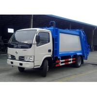 Buy cheap HIgh Performance Dongfeng 8CBM small compactor garbage truck price, garbage can cleaning truck from wholesalers