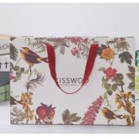 Buy cheap Low cost retail OEM custom printing luxury gift shopping cloths paper craft bag from wholesalers