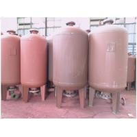 Buy cheap Fire Fighting Diaphragm Pressure Water Storage Tanks 80 Degree Operating from wholesalers