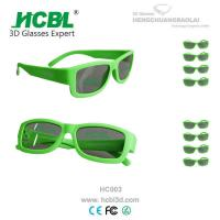 Buy cheap Multi Use X Mirror Cinema System 3D Polarised Glasses 3 D Dimensional from wholesalers