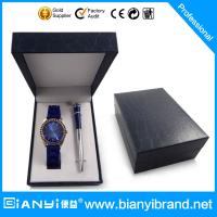 Buy cheap New arrival best selling promotional men business watch gift set from wholesalers