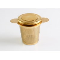 Buy cheap Gold Stainless Steel Metal Fine Mesh Tea Infuser for Loose Leaf Tea from wholesalers