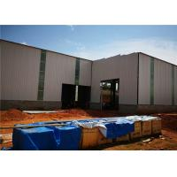Buy cheap Metal Building Construction Projects Warehouse Designs Prefabricated Light Steel Structure Workshop from wholesalers