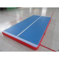 Buy cheap 3m Inflatable Jumping Mat With Velcro System , Gymnastics Air Track For Home from wholesalers