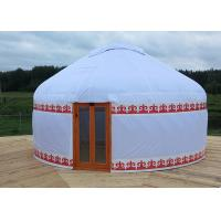 Buy cheap Outdoor Waterproof Mongolian Inflatable Camping Dome / Inflatable Yurt Tent from wholesalers