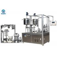 Buy cheap Manually Feeding Container Cosmetic Filling Equipment With Capper from wholesalers