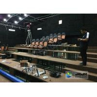 Buy cheap 180 Degree Curved Screen 5D Theater System Counting System 9 Seats product