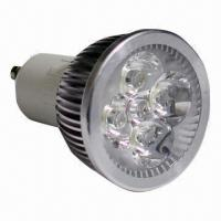 Buy cheap Eco-friendly 4W LED Spotlight Bulb with 320lm Luminous and 50,000-hour Lifespan product