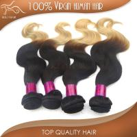 Buy cheap ombre hair remy malaysian human hair extensions top grade 6A machine weft wholesale from wholesalers