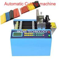 Buy cheap English Language Automatic Webbing Cutter For Heat Shrink / PVC Sleeve Tubing from wholesalers
