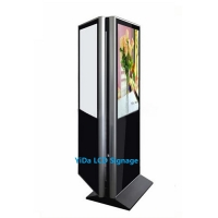 Buy cheap Double Sided 180W 65 350CD/Sqm LCD Touch Screen Kiosk from wholesalers
