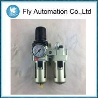 Buy cheap SMC Type Air Preparation Units Techno AC3010-03 AC4010 AC5010 Filter Combination G3/8 Metal cover from wholesalers