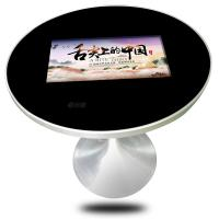 Buy cheap Indoor Round Style Coffee Wireless Charger In It Capacitive Touch 22 Inch Touch Screen Coffee Table from wholesalers