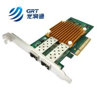China ANC10S Compatible Allied Telesis PCIe 10G dual- port SFP+ Intel 82599 Network Card on sale