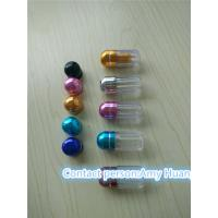 Buy cheap Small Blue Clear Sex Pill Container Pharmacy Vials Empty Medicine Bottles from wholesalers