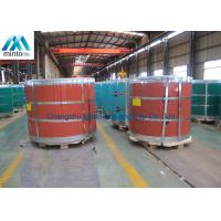 Buy cheap 5052 H38 Aluminium Colour Coated Coil Anti Finger With PE / PVDF Coating from wholesalers