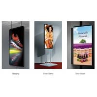 Buy cheap Portable Digital Led Poster Screen , Advertising IP31 Slim Light Weight Box from wholesalers