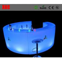 Buy cheap Led  corner bench ,glow led mobile bar / led bar counter / portable bar counter from wholesalers