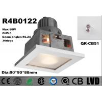 Buy cheap 50W GU5.3 Frosted Glass Dimmable LED Spot Downlights Anti - Flog 90 * 90 * 88mm from wholesalers