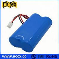 Buy cheap 7.2V lithium battery pack with connector in series from wholesalers