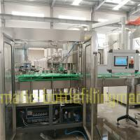 Buy cheap Flavoured Juice Drink Beverage Filling Machine For Small Fruit Juice Factory product