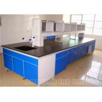 Buy cheap Gas Fitting Laboratory Work Benches Clean Room Cabinets With Walk In Fume Hood from wholesalers