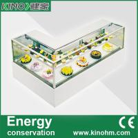 Buy cheap China factory sale,L shaped cake pastry display refrigerator showcase,commercial chiller from wholesalers