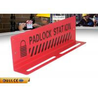 Buy cheap Durable Red Color Steel Material 282g 10-Lock Lock Out Station from wholesalers