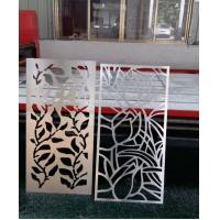 Buy cheap aluminum perforated carved decorative facade panel or for curtain wall from wholesalers