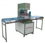 Buy cheap Transparent PVC&PET soft crease box making weldingmachine from wholesalers