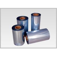 Buy cheap 53% Shrinkage 45mic Shrink PVC Labels Film Rolls For Heat Shrinkable Bands product