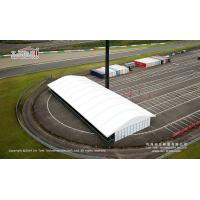 Buy cheap Liri white solid plasic panel sidewall 15x40m Arcum Tent for Ferrari Challenge Racing in Japan 2019 from wholesalers