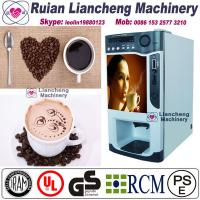 Buy cheap nescafe coffee vending machine price  Bimetallic raw material 3/1 microcomputer Automatic Drip coin operated instant from wholesalers