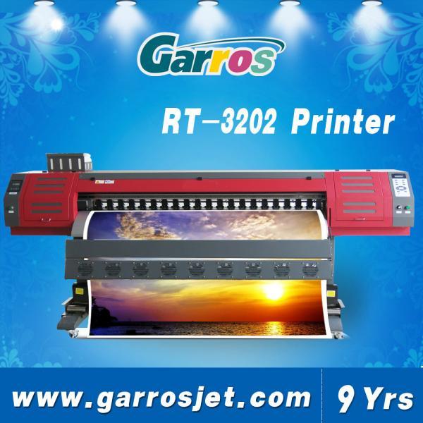 Digital Vinyl Printer 3 2m Pvc Flex Banner Printer Machine