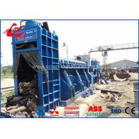 Buy cheap PLC Controlled Hydraulic Shear Baler Scrap Metal Machinery For Angle Iron WANSHIDA from wholesalers