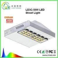 Buy cheap Osram Meanwell Driver LED Street Light Lamp 160 LM / W Outdoor Street Lighting product